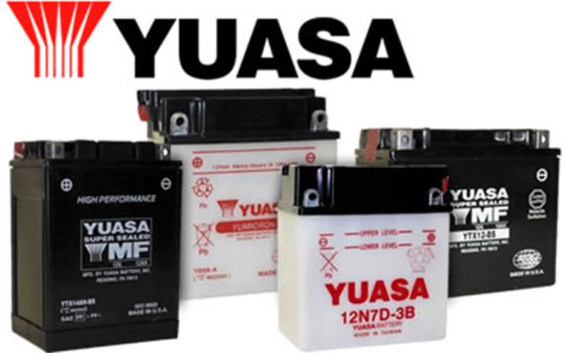 Yuasa batteries - BOG